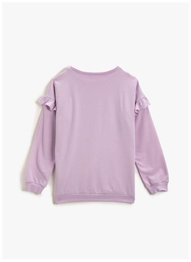 Koton Sweatshirt Lila